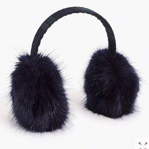 J Crew Faux Fur Ear Muffs